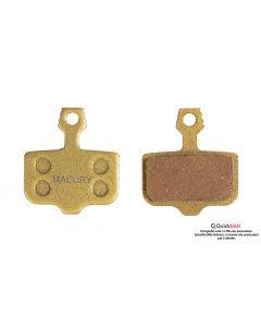 Placute de frana metalice MACURY pentru Quickvolt 10,10X si Honghao S12